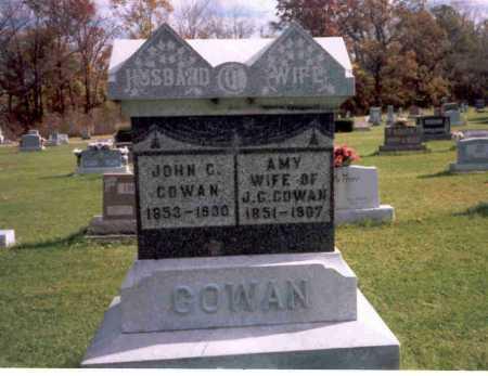 DAILEY COWAN, AMY - Van Wert County, Ohio   AMY DAILEY COWAN - Ohio Gravestone Photos