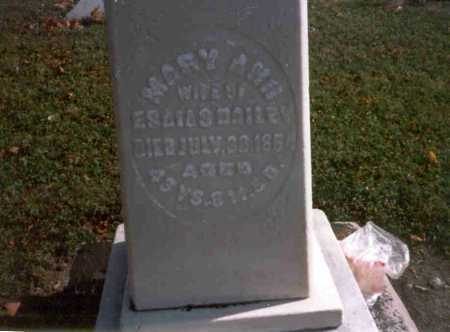 THOMPSON DAILEY, MARY ANN - Van Wert County, Ohio | MARY ANN THOMPSON DAILEY - Ohio Gravestone Photos