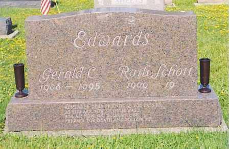 EDWARDS, GERALD C. - Van Wert County, Ohio | GERALD C. EDWARDS - Ohio Gravestone Photos