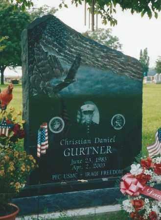 GURTNER, CHRISTIAN - Van Wert County, Ohio | CHRISTIAN GURTNER - Ohio Gravestone Photos