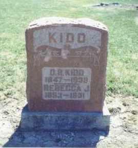 KIDD, REBECCA J. - Van Wert County, Ohio | REBECCA J. KIDD - Ohio Gravestone Photos