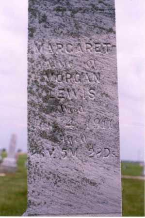 LEWIS, MARGARET - Van Wert County, Ohio | MARGARET LEWIS - Ohio Gravestone Photos