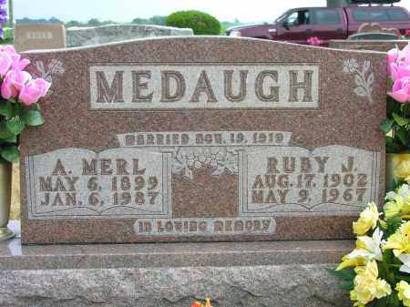 MEDAUGH, RUBY J. - Van Wert County, Ohio | RUBY J. MEDAUGH - Ohio Gravestone Photos