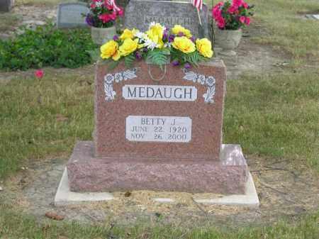 MEDAUGH, BETTY J. - Van Wert County, Ohio   BETTY J. MEDAUGH - Ohio Gravestone Photos