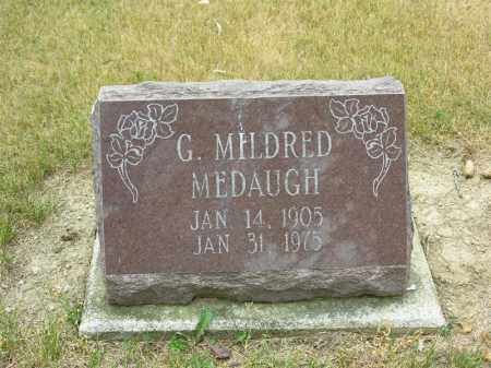 MEDAUGH, GLADYS MILDRED - Van Wert County, Ohio | GLADYS MILDRED MEDAUGH - Ohio Gravestone Photos