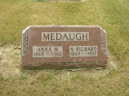 MEDAUGH, NORMAN RICHARD - Van Wert County, Ohio | NORMAN RICHARD MEDAUGH - Ohio Gravestone Photos