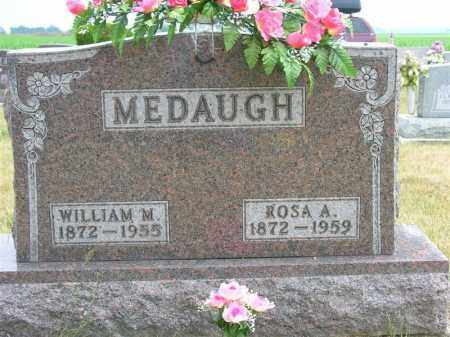 BROWN MEDAUGH, ROSA A. - Van Wert County, Ohio | ROSA A. BROWN MEDAUGH - Ohio Gravestone Photos