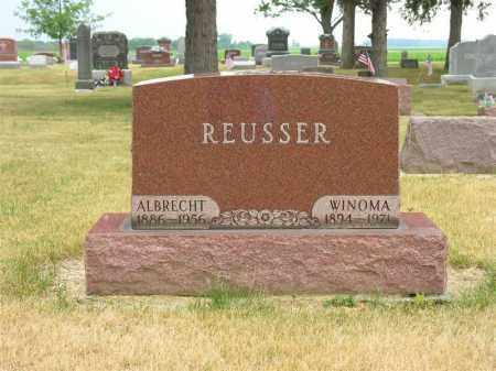 REUSSER, LULU WINOMA - Van Wert County, Ohio   LULU WINOMA REUSSER - Ohio Gravestone Photos