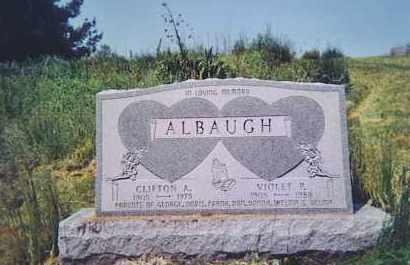 ALBAUGH, CLIFTON A. - Vinton County, Ohio   CLIFTON A. ALBAUGH - Ohio Gravestone Photos