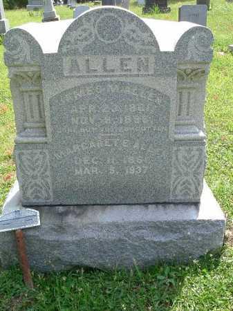 RIGGS ALLEN, MARGARET ELIZABETH - Vinton County, Ohio   MARGARET ELIZABETH RIGGS ALLEN - Ohio Gravestone Photos