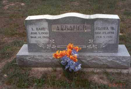 ARBAUGH, L. EARL - Vinton County, Ohio | L. EARL ARBAUGH - Ohio Gravestone Photos