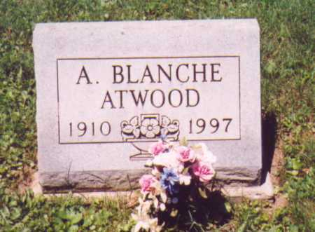 ATWOOD, A. BLANCHE - Vinton County, Ohio | A. BLANCHE ATWOOD - Ohio Gravestone Photos