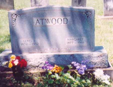 ATWOOD, LEWIS R. - Vinton County, Ohio | LEWIS R. ATWOOD - Ohio Gravestone Photos