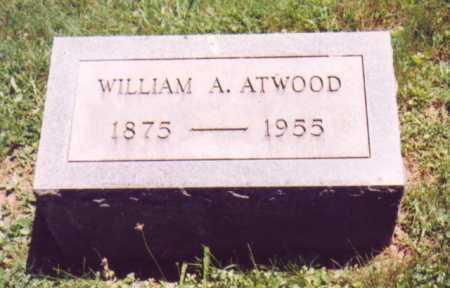 ATWOOD, WILLIAM A. - Vinton County, Ohio | WILLIAM A. ATWOOD - Ohio Gravestone Photos
