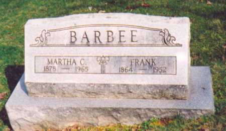 BARBEE, FRANK - Vinton County, Ohio | FRANK BARBEE - Ohio Gravestone Photos