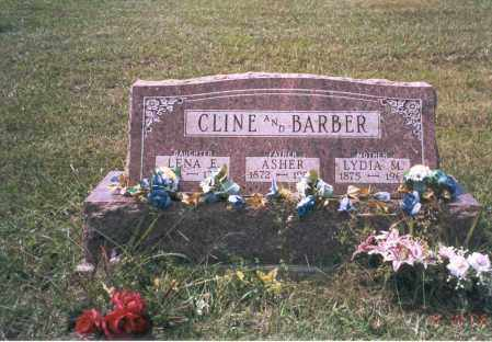 CLINE, LENA E. - Vinton County, Ohio | LENA E. CLINE - Ohio Gravestone Photos
