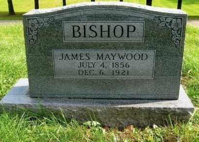 BISHOP, JAMES MAYWOOD - Vinton County, Ohio | JAMES MAYWOOD BISHOP - Ohio Gravestone Photos