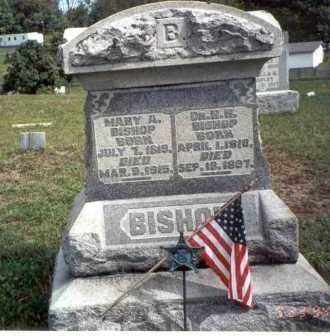 BISHOP, M.D., H. H. - Vinton County, Ohio | H. H. BISHOP, M.D. - Ohio Gravestone Photos