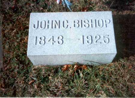 BISHOP, M.D., JOHN C. - Vinton County, Ohio   JOHN C. BISHOP, M.D. - Ohio Gravestone Photos