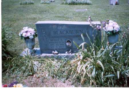 BLACKBURN, VIOLET L. - Vinton County, Ohio   VIOLET L. BLACKBURN - Ohio Gravestone Photos