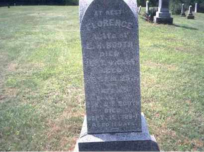 BOOTH, FLORENCE - Vinton County, Ohio | FLORENCE BOOTH - Ohio Gravestone Photos