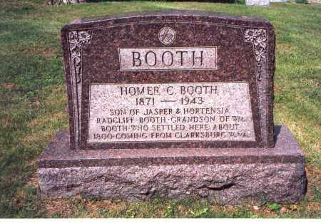 BOOTH, HOMER C. - Vinton County, Ohio | HOMER C. BOOTH - Ohio Gravestone Photos