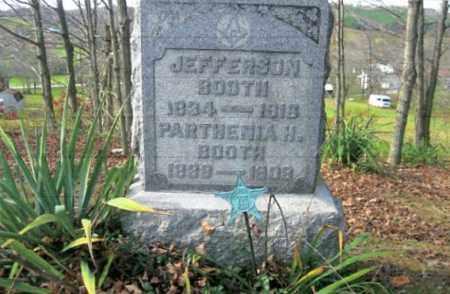 HORTON BOOTH, PARTHENIA - Vinton County, Ohio | PARTHENIA HORTON BOOTH - Ohio Gravestone Photos