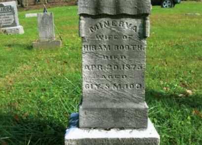 BOOTH, MINERVA - Vinton County, Ohio | MINERVA BOOTH - Ohio Gravestone Photos