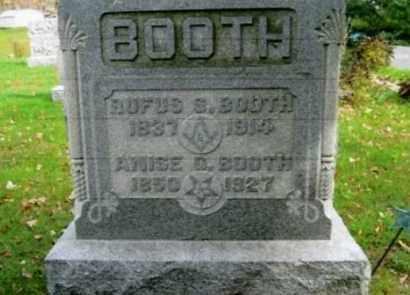 BOOTH, ANISE O. - Vinton County, Ohio | ANISE O. BOOTH - Ohio Gravestone Photos