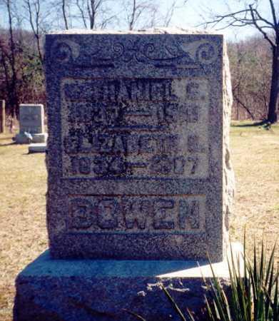 BOWEN, ELIZABETH S. - Vinton County, Ohio | ELIZABETH S. BOWEN - Ohio Gravestone Photos