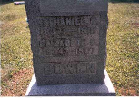 BOWEN, ELIZABETH - Vinton County, Ohio | ELIZABETH BOWEN - Ohio Gravestone Photos