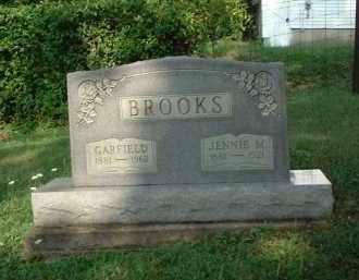 BROOKS, JENNIE M. - Vinton County, Ohio | JENNIE M. BROOKS - Ohio Gravestone Photos