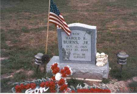 "BURNS, JR., HAROLD R. ""RICK"" - Vinton County, Ohio | HAROLD R. ""RICK"" BURNS, JR. - Ohio Gravestone Photos"