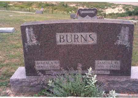 BURNS, MAHALA C. - Vinton County, Ohio | MAHALA C. BURNS - Ohio Gravestone Photos