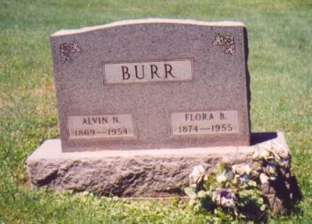 BURR, FLORA B. - Vinton County, Ohio   FLORA B. BURR - Ohio Gravestone Photos