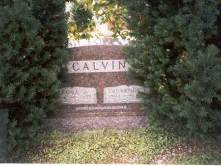 JEFFERS CALVIN, LEONA J. - Vinton County, Ohio   LEONA J. JEFFERS CALVIN - Ohio Gravestone Photos