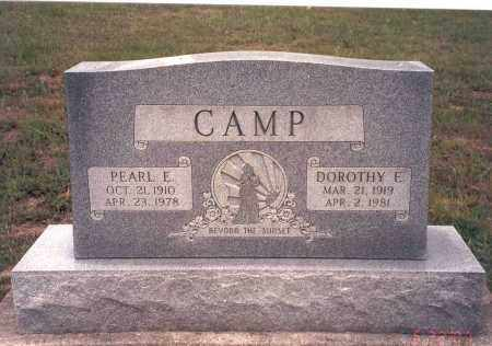 CAMP, DOROTHY E. - Vinton County, Ohio | DOROTHY E. CAMP - Ohio Gravestone Photos