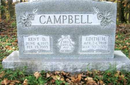 CAMPBELL, EDITH H. - Vinton County, Ohio | EDITH H. CAMPBELL - Ohio Gravestone Photos
