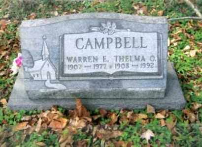 CAMPBELL, THELMA O. - Vinton County, Ohio | THELMA O. CAMPBELL - Ohio Gravestone Photos