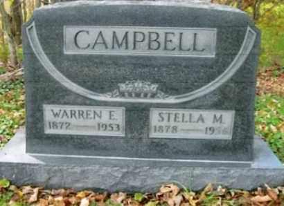 CAMPBELL, STELLA M. - Vinton County, Ohio | STELLA M. CAMPBELL - Ohio Gravestone Photos