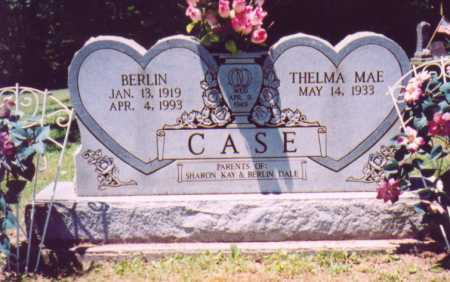 CASE, THELMA MAE - Vinton County, Ohio | THELMA MAE CASE - Ohio Gravestone Photos