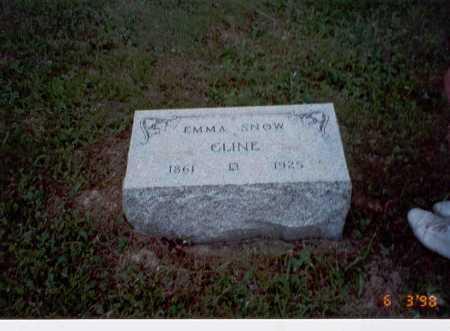 CLINE, EMMA - Vinton County, Ohio | EMMA CLINE - Ohio Gravestone Photos
