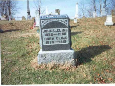 CLINE, DORA - Vinton County, Ohio | DORA CLINE - Ohio Gravestone Photos