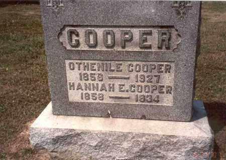 COOPER, OTHENILE - Vinton County, Ohio | OTHENILE COOPER - Ohio Gravestone Photos