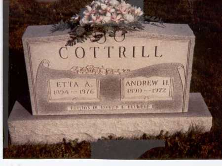 COTTRILL, ETTA - Vinton County, Ohio   ETTA COTTRILL - Ohio Gravestone Photos