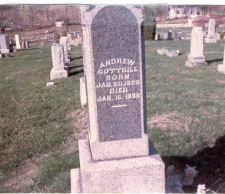 COTTRILL, ANDREW - Vinton County, Ohio | ANDREW COTTRILL - Ohio Gravestone Photos