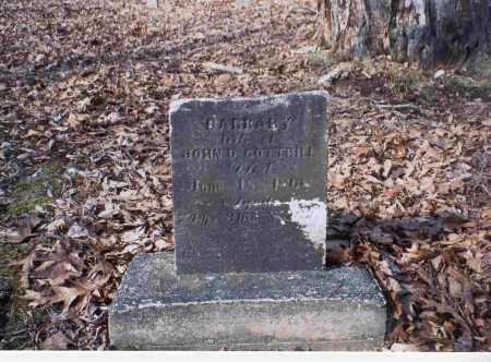 GREATHOUSE COTTRILL, BARBARY - Vinton County, Ohio   BARBARY GREATHOUSE COTTRILL - Ohio Gravestone Photos