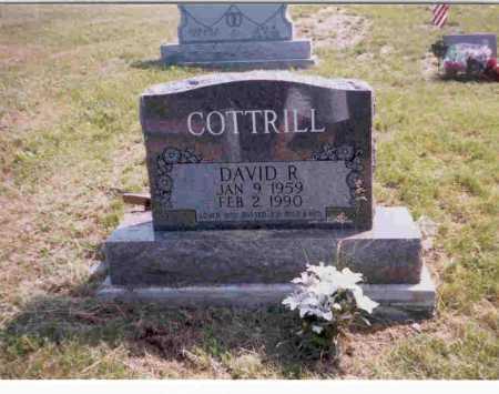 COTTRILL, DAVID - Vinton County, Ohio | DAVID COTTRILL - Ohio Gravestone Photos
