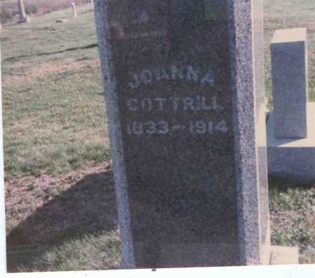 BARNHOUSE COTTRILL, JOANNA - Vinton County, Ohio | JOANNA BARNHOUSE COTTRILL - Ohio Gravestone Photos