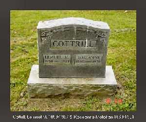COTTRILL, ROSEANNA ANNIE - Vinton County, Ohio   ROSEANNA ANNIE COTTRILL - Ohio Gravestone Photos